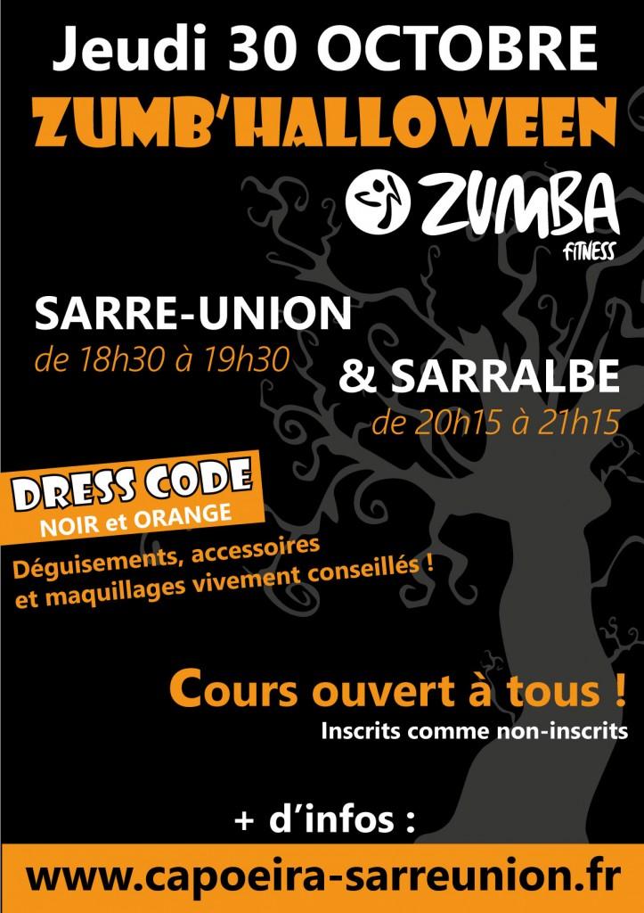 zumba halloween 2014 sarralbe sarre-union