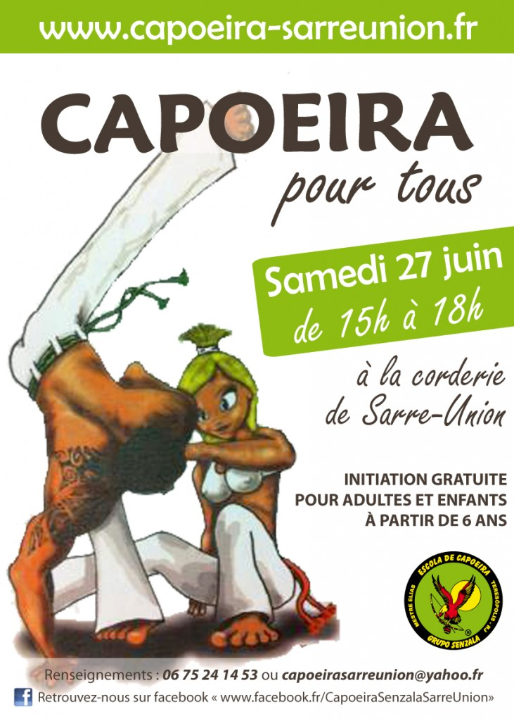 initiation capoeira sarre union 2015
