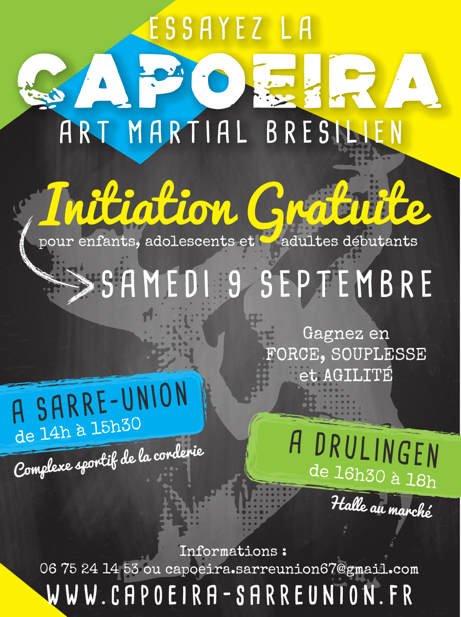 initiation capoeira sarre union